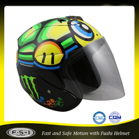 Custom decal stylish design capacete motorcycle helmet