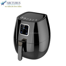 Digital Deep fryer with Detechable Cord and Led DIsplay and Adjustable Timer and 3 layer xylon coating