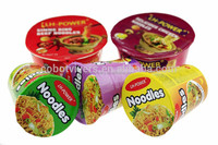 Cup soup and Box Packaging spaghetti and instant noodles