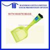 Hot selling plastic eco-friendly pet poop scooper with waste bag