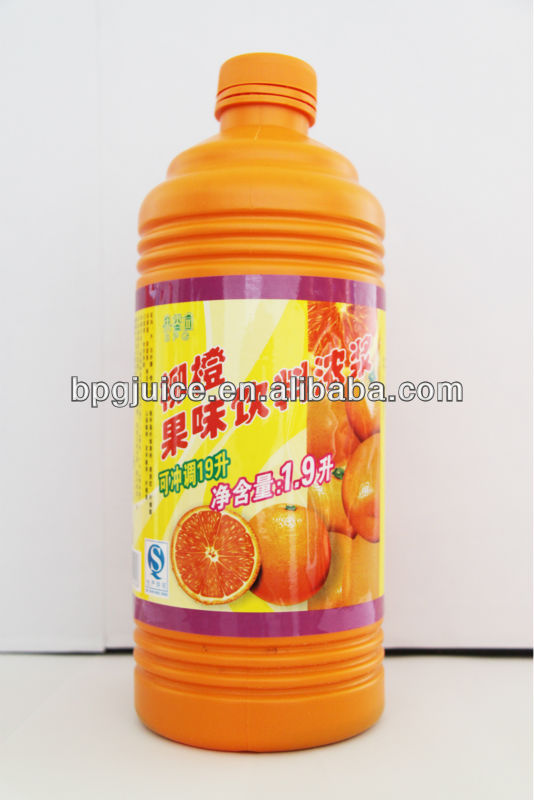 manufacture Orange Juice Drinks(1:9) in good quality with best price