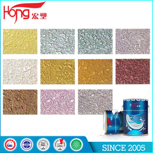 Rich Color Texture Coating Water Based Acrylic Resin Metallic Paint