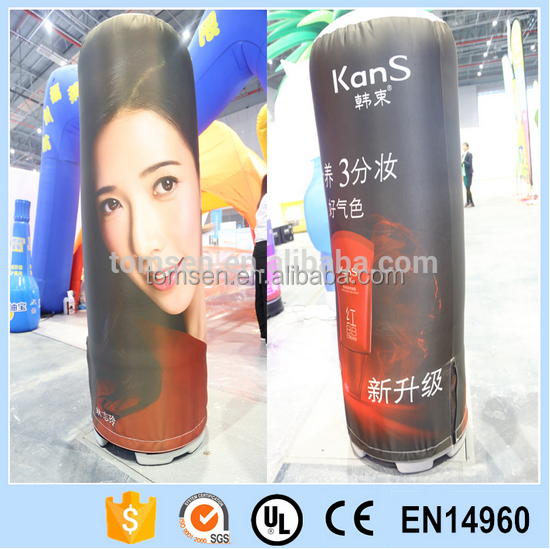 Inflatable column advertising/customized printinginflatable advertising tube/inflatable outdoor tube