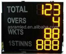 2015 New Led Digital Cricket Scoreboard for sale /TF-ML3001A Portable LED electronic digital basketball scoreboard