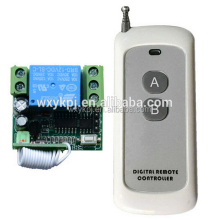 High Quality New Digital wireless remote control switch 12V 10A 1 Channel Relay RF switch