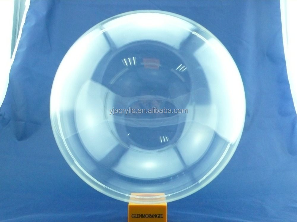 High quality hollow acrylic ball, large clear plastic hollow ball