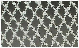 High quality high service/Welded Razor barbed wire mesh Fence /main products chinese export