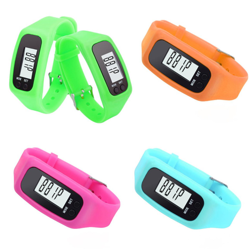 Square Shaped Dial Colorful Thin Kids Silicone Jelly Watch For Christmas Gift