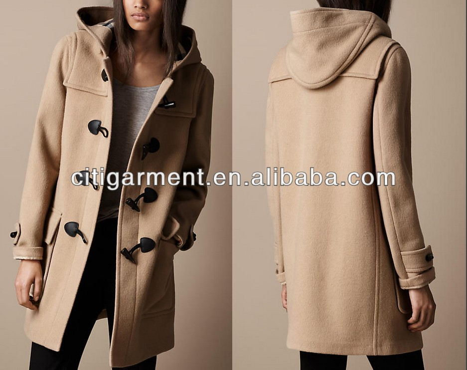 Women Wool Duffle Coat - Buy Unique Womens Coats,Womens Long Wool ...