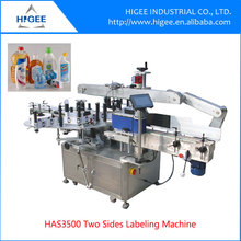 Automatic drinking water labeling machine for bottles
