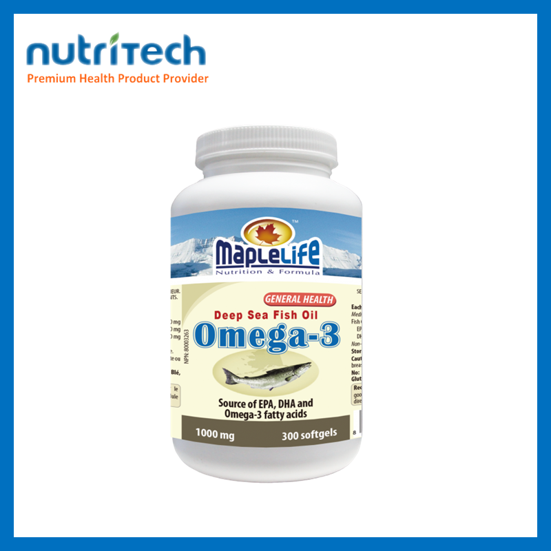 Omega-3 Deep Sea Fish Oil Natural remedies for high cholesterol