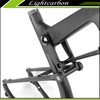 LightCarbon bicycle frame suspension 29 for mtb mtb frame with full suspension