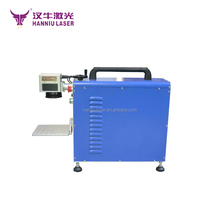 low price 30W Mini small easy carry 30W fiber laser engraver