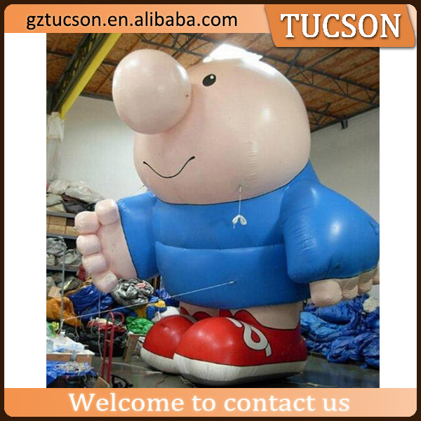 Factory customized outdoor display inflatable cartoon characters for sale