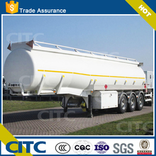 Aluminum alloy fuel tank semi trailer,alloy round fuel tank
