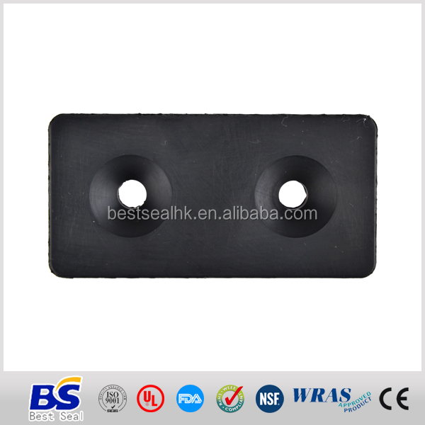 Rubber factory customized molded bumper
