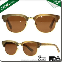 Fashionable new style 2016 bamboo sunglasses