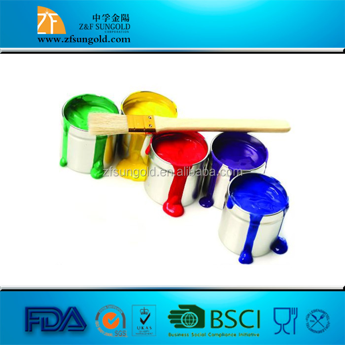 CMC paint grade is superior and the distribution of substituent is more even.