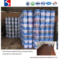 Polyurethane waterproofing coating building materials for toilet bathroom