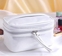 Royal Silver Beauty Case makeup Bag Travel Organizer Cosmetic Case