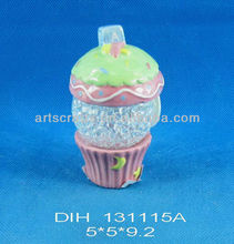 LED light with ceramic cake stand
