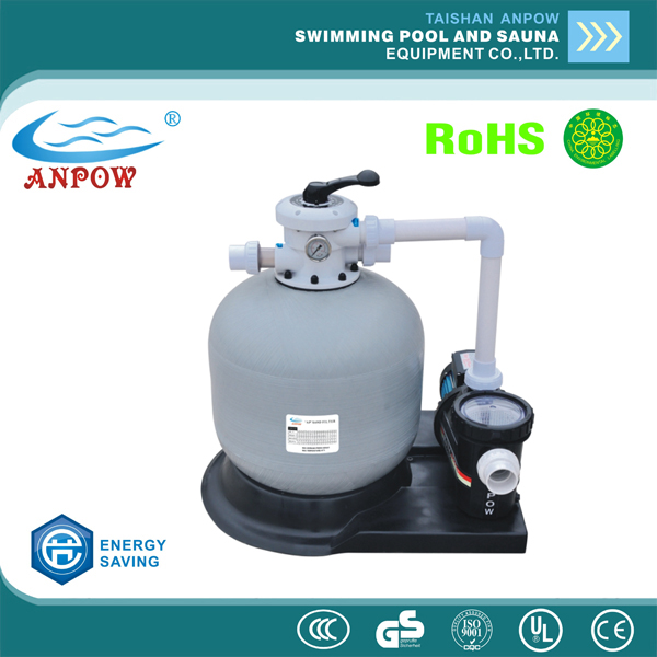 swimming pools filters water treatment GRP FRP sand filter with pump filtration equipment