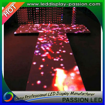 Full Colour High Quality Dancing LED Floor - P25