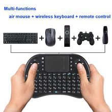 Russian Version Mini 2.4G Wireless Keyboard Handheld Air Mouse Touchpad Remote Control for Xbox360/PS3/Andriod TV Box HTPC PC