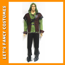 PGMC0380 Free shipping adult mens halloween costume robin costume wholesale in China