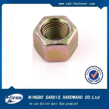 China factory&manufacture&supplier galvanized steel hex nut for pipe