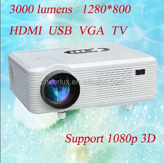 Cheapest 2000:1 Contrast Ratio 95% Light Uniformity Over Head Projector