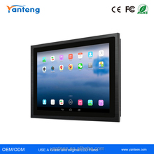 IP65 Waterproof and dust proof 17inch android industrial touch screen panel pc with 5-wire resistive touchscreen