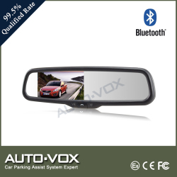 Super brightness rearview mirror Bluetooth monitor for car