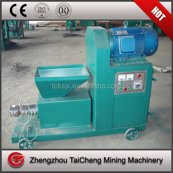 bamboo charcoal making machine/powder coal and charcoal extruder equipment