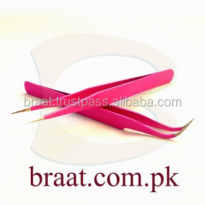 Hot tweezers for eyelash extension korea