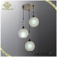 2016 Wholesale Modern Glass Pendant Light for Home Decoration, Dining Light for Dining Room