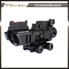 Vector Optics Goliath 4x32 Riflescope Fiber Sight .223 Reticle With Rear Iron Sight and Side Rails Optical Scope