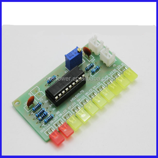 LM3915 Audio Level Indicator DIY Kit Electronic Production Suite