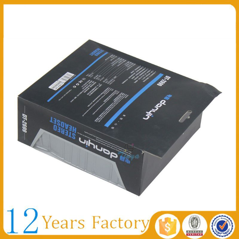 Printing products electronic packaging boxes