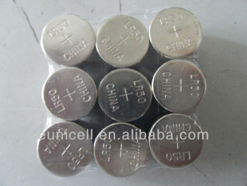 (LR50) Alkaline Battery 380mah high capacity BUTTON BATTERY