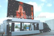 Cheapest ! P10mm outdoor full-color mobile led advertising display screen