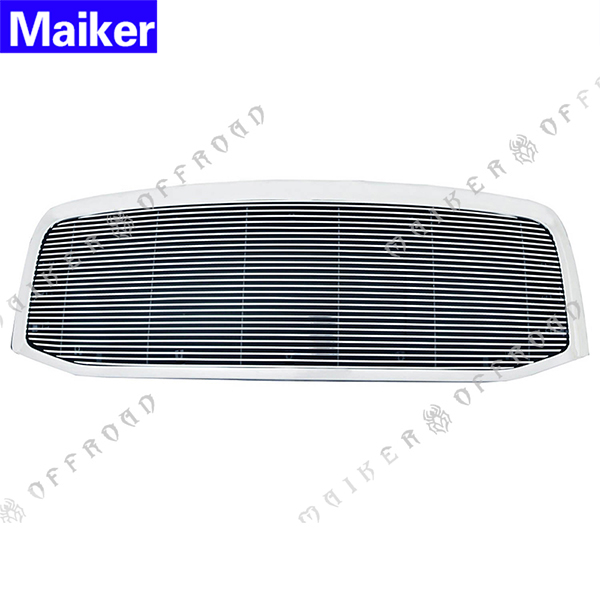 Horizontal Billet Packaged Black Grille For Dodge Ram 1500 2500 3500 2006-2009 Accessories