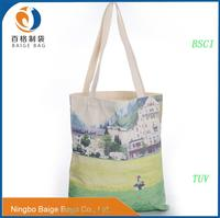china manufacture recycled foldable jute shopping tote bag