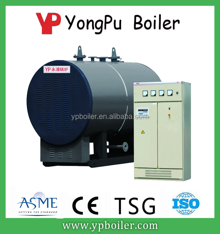 Large industrial horizontal electric heating hot water boiler induction heating boiler