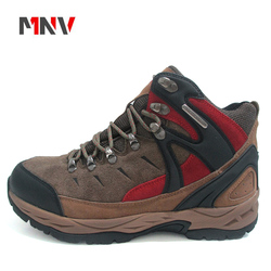2018 new popular design breathable climbing hiking outdoor shoes with mountaineering fashion Waterproof