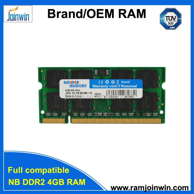 Escrow <strong>payment</strong> 256MB*8/16C 2x4GB 8gb pc2-6400 ddr2 sodimm 800mhz 200-pin memory ram