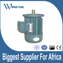 0.5hp-3hp Capacitor Run Copper Wire Alu Body Ac Electric Induction three Phase Motor