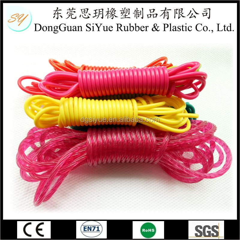 Coiled Colorful PVC Cord With Competitive Price