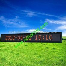 led screen car advertising / Desk LED Display, LED Display for car, bus,shop,hospital,shool etc/ alibaba express
