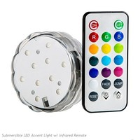 Colorful 10 LED Accent Light with Remote Control